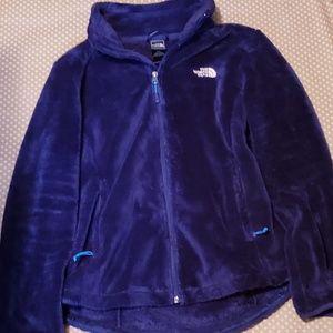 The North Face Osito Jacket Size Medium Navy Blue